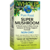 Whole Earth and Sea Super Mushroom 60 vegcaps W55108