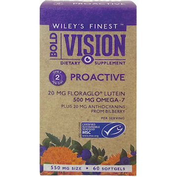 Wileys Finest Bold Vision ProActive 60 softgels W04401
