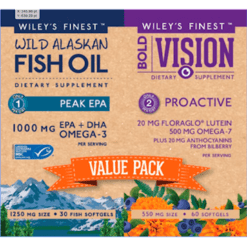 Wileys Finest Bold Vision Value Pack 2 bottles W04425