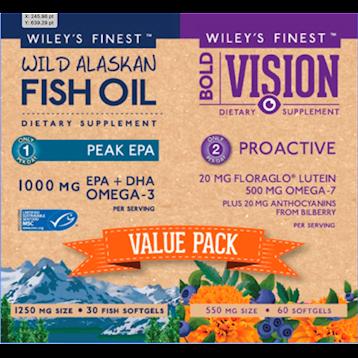 Wileys Finest Bold Vision Value Pack 2 bottles W04425