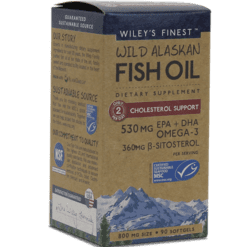 Wileys Finest Wild AK Fish Oil Chol Supp 90 softgels W04159