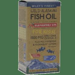Wileys Finest Wild Alaskan Elementary EPA 4.23 fl oz W04289