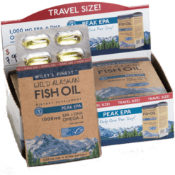 Wileys Finest Wild Alaskan Peak EPA 10 softgels W04319