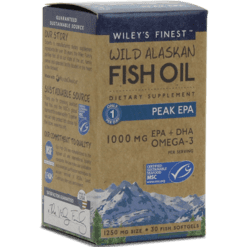 Wileys Finest Wild Alaskan Peak EPA 30 softgels W04012