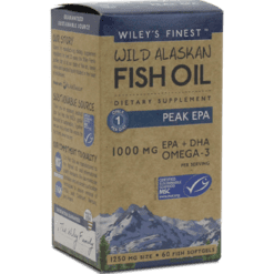 Wileys Finest Wild Alaskan Peak EPA 60 softgels W04074