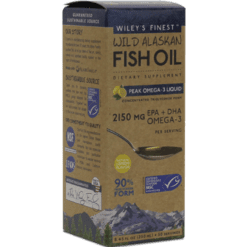 Wileys Finest Wild Alaskan Peak Fish Oil 8.45 fl oz W04142