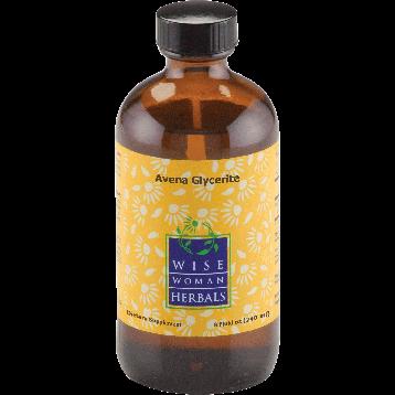 Wise Woman Herbals Avena Glycerite oat 8 oz OAT13