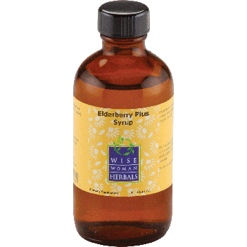 Wise Woman Herbals Elderberry Plus Syrup 4 oz W28729