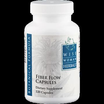 Wise Woman Herbals Fiber Flow Capsules 120 caps FIBER