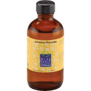 Wise Woman Herbals Immune Glycerite 4 oz CHI25