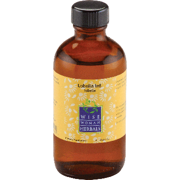Wise Woman Herbals Lobelia lobelia 4 oz LOBE9