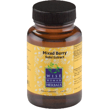 Wise Woman Herbals Mixed Berry Solid Extract 4 oz MIXE4
