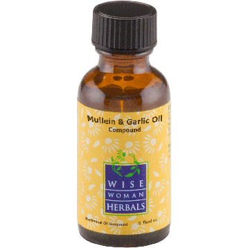 Wise Woman Herbals Mullein amp Garlic Oil Compound 1 2 oz MUL41