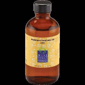 Wise Woman Herbals Phytolacca Oil poke 4 oz POKE9