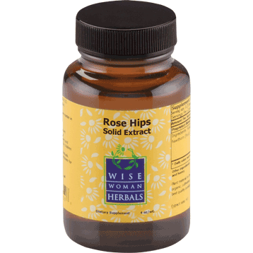 Wise Woman Herbals Rose Hips Solid Extract 4 oz ROSE9