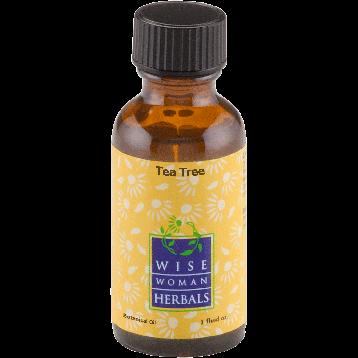 Wise Woman Herbals Tea Tree Essential Oil 1 oz TEA7