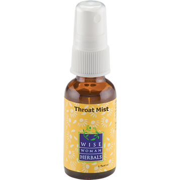 Wise Woman Herbals Throat Mist 1 oz THRO6