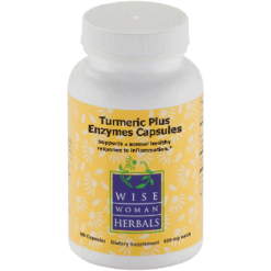 Wise Woman Herbals Turmeric Plus Enzymes 90 caps W31217