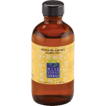 Wise Woman Herbals Uritca aerial stinging nettle 4 oz NET15