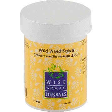 Wise Woman Herbals Wild Weed Salve 1 oz WIL26