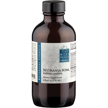 Wise Woman Herbals Withania som. ashwagandha 4 oz ASHW6