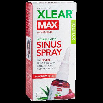 Xlear Max Nasal Spray with Capsicum 1.5 fl oz XL7193