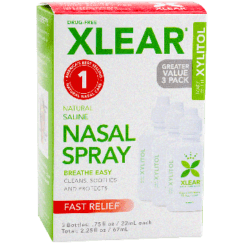 Xlear Nasal Spray 3 pack XLEA2