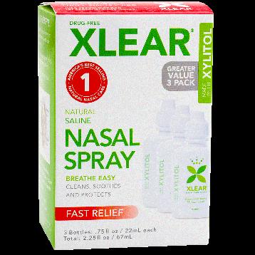 Xlear Nasal Spray 3 pack XLEA2