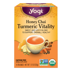 Honey Chai Turmeric Vitality