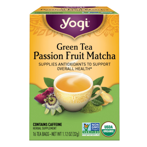 Green Tea Passion Fruit Matcha