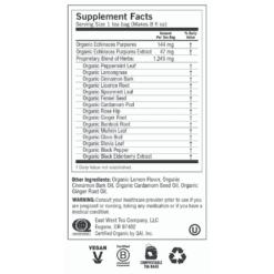 Y45010 ECHINACEA IMMUNE SUPPORT Label 1