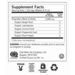 Yogi Teas Ginger Label