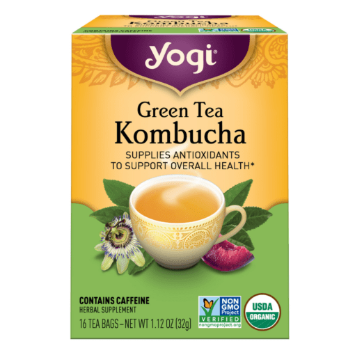Yogi Teas Green Tea Kombucha