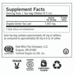 Yogi Teas Pure Green Label