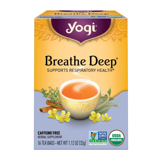 Yogi Teas Breathe Deep