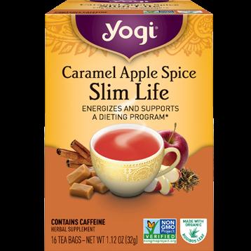 Yogi Teas Caramel Apple Spice Slim Life 16 bags Y20356