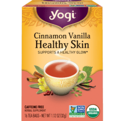 Yogi Teas Cinnamon Vanilla Healthy Skin 16 bags Y20458