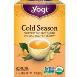 Yogi Teas Cold Season 16 bags Y45009