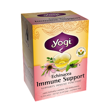 Yogi Teas Echinacea Immune Support 16 bags Y45010