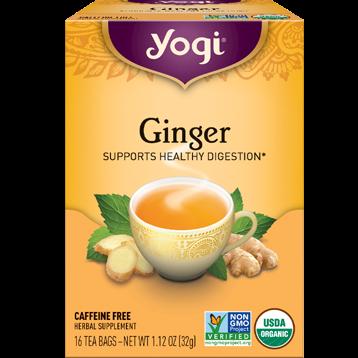 Yogi Teas Ginger 16 bags Y45011