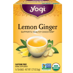 Yogi Teas Lemon Ginger 16 bags Y45017