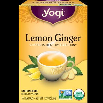 Yogi Teas Lemon Ginger 16 bags Y45017
