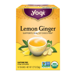 Yogi Teas Lemon Ginger