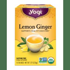Yogi Teas Lemon Ginger