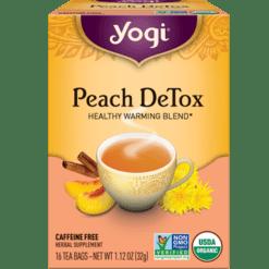 Yogi Teas Peach Detox 16 bags Y45023