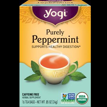Yogi Teas Purely Peppermint 16 bags Y45047