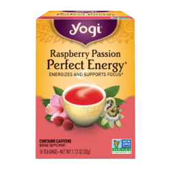 Yogi Teas Raspberry Passion Perfect Energy