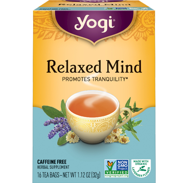 Yogi Teas Relaxed Mind 16 bags Y45022