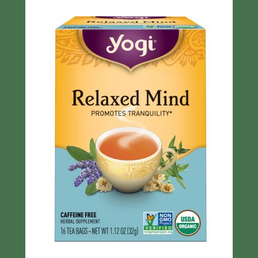 Yogi Teas Relaxed Mind 3