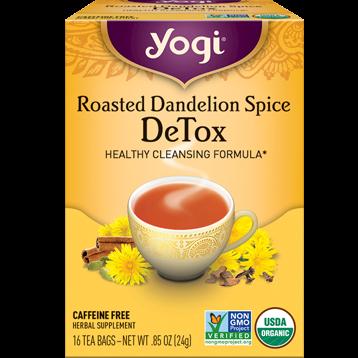 Yogi Teas Roasted Dandelion Spice Detox 16 bags Y04713